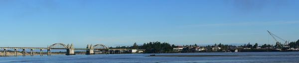 Siuslaw River at Florence